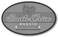 South Drive Baguio Manor logo gray
